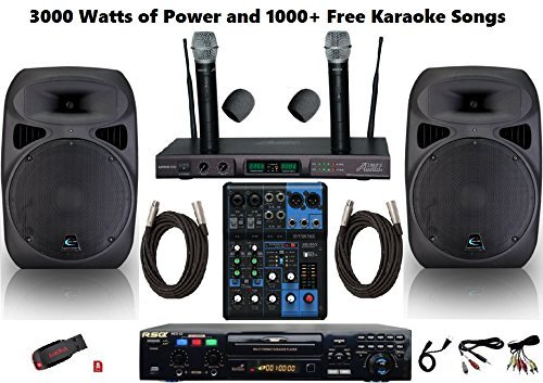 Best Professional Karaoke Machine Pasta Prima