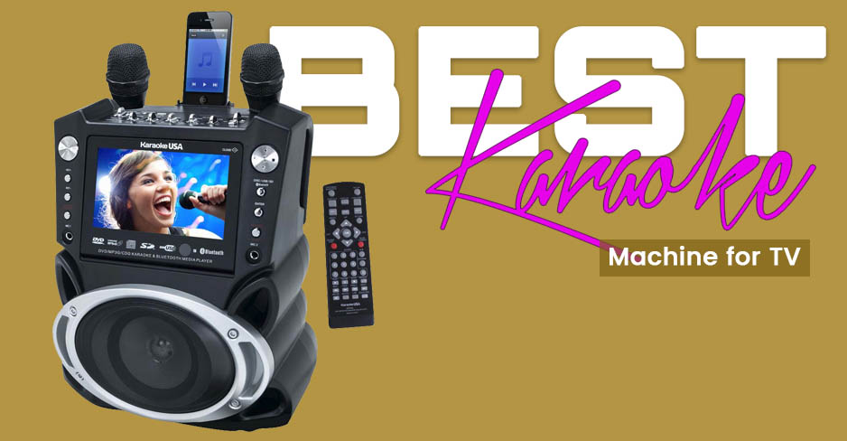 Karaoke Machine for TV Reviews